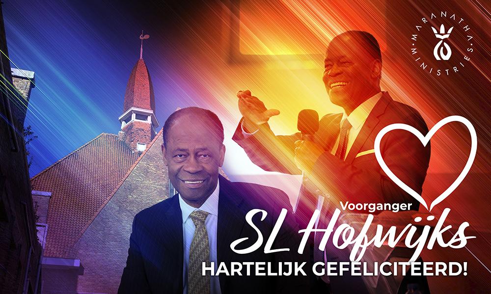 Hartelijk gefeliciteerd apostel S.L. Hofwijks!