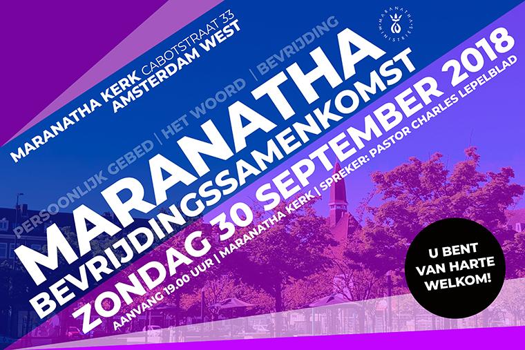 Bevrijdingssamenkomst 30 september