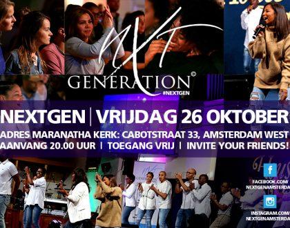 NextGen - 26 oktober