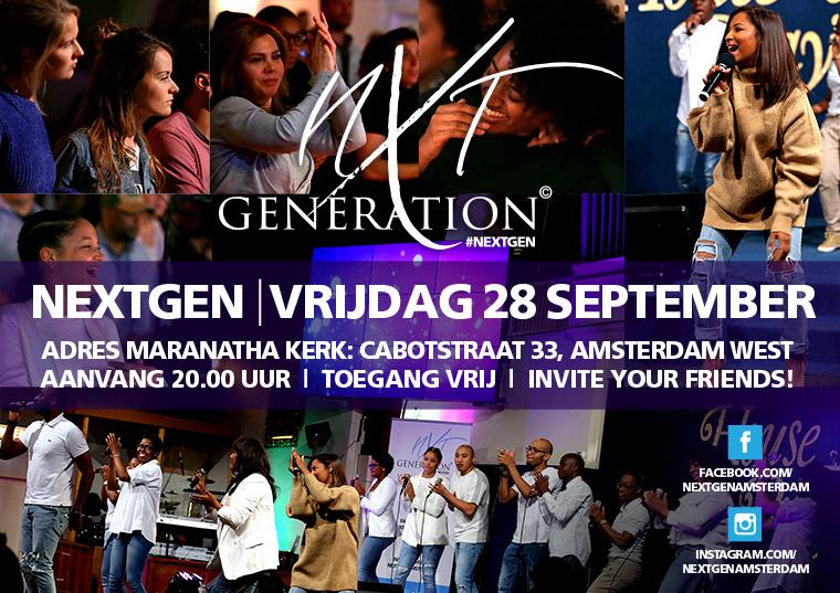 NextGen - 28 september