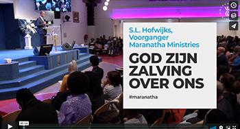 God Zijn zalving over ons