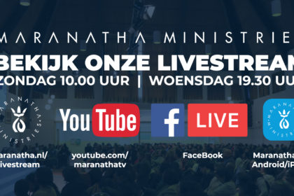 Straks om 10.00 uur: Livestream