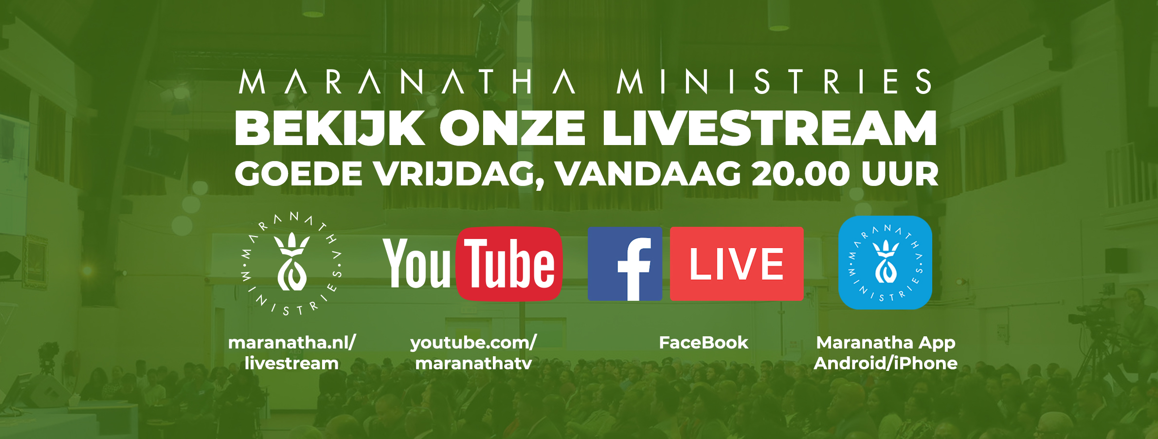 Goede vrijdag: Livestream