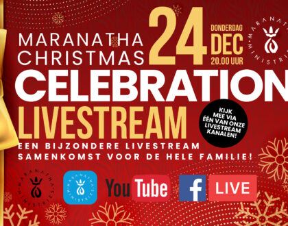 Vanavond: de Christmas Celebration 2020!