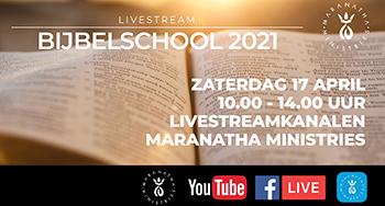 Livestream Bijbelschool